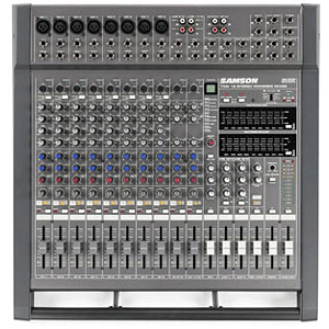 Samson TXM16 16 Channel Tabletop Powered Mixer