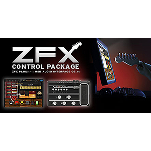 Zoom C5.1t - ZFX Control Package (ZFX Plug-In, C5.1t USB Audio Interface, and Cubase LE)