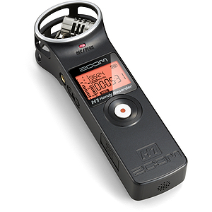 Zoom H1 Handheld Digital Music Recorder