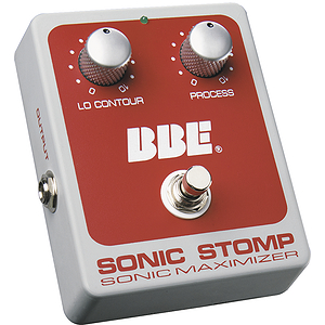 BBE SONICSTOMP Guitar and Bass Effects Pedal