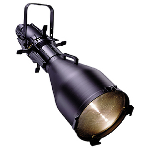 ETC Source Four Ellipsoidal, model 405 (5-degree) - Black - unterminated wires (plug sold separately)