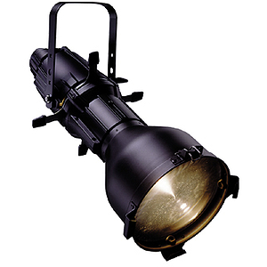 ETC Source Four Ellipsoidal, model 410 (10-degree) - Black - unterminated wires (plug sold separately)