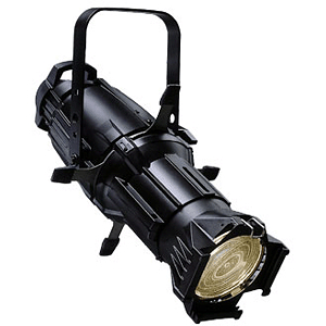 ETC Source Four Ellipsoidal, model 426 (26-degree) - Black - unterminated wires (plug sold separately)