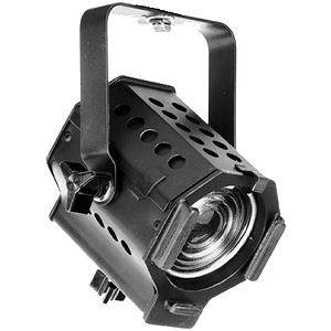 Times Square Lighting C3 3-inch Baby Fresnel - Black - with preinstalled Edison Plug