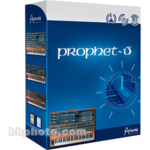 "Arturia Prophet V Software Synth - ""True Analog Emulation"" of Sequential Circuits Synth"