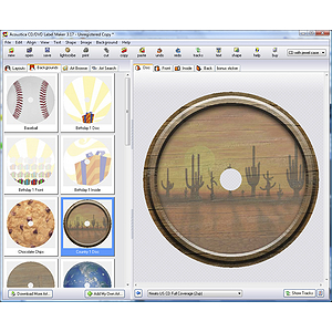 Acoustica CD/DVD Label Maker 3.17 for Windows