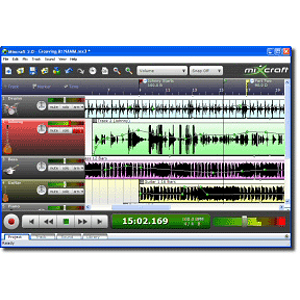 Acoustica Mixcraft Multi-Track Recording Studio Software for Windows