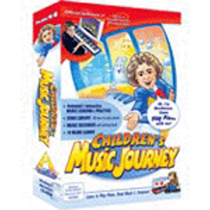 Adventus Children's Music Journey Volume 1 w/ MIDI Keyboard  - Piano and General Music Instruction Software