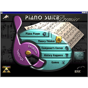 Adventus Piano Suite Basic for Windows - Piano Instruction Software