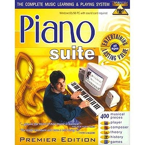 Adventus Piano Suite Premier - Piano Instruction Software for Windows