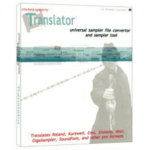 Chicken Systems Translator Software Sample Converter (Mac & Windows)