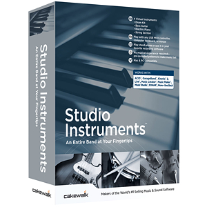 Cakewalk Studio Instruments Bundle