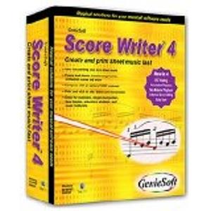 Geniesoft Score Writer 4 Music Notation Software