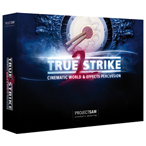 ProjectSAM TrueStrike 2 Orchestral Percussion Sounds for Film, TV & Video Games