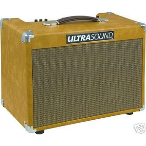 UltraSound AG-50DS4 2-Channel 50-watt Stereo Acoustic Guitar Amplifier