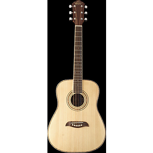 "Oscar Schmidt OGHS 34"" Children's Acoustic Guitar - Steel string, Natural"