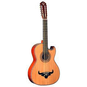 Oscar Schmidt OH52SE Acoustic-Electric Bajo Sexto with Gig Bag