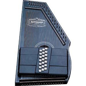 Oscar Schmidt OS73C 21-Chord Autoharp - Black