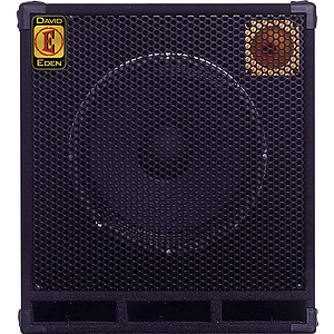 Eden D115XLT8 400 Watt, 8 Ohm Bass Guitar Speaker Cabinet