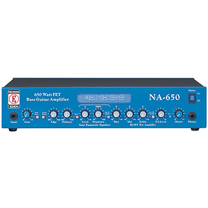 Eden NA650 650 Watt Bass Guitar Amplifier Head