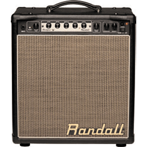 Randall RM20BP MTS Series 18-Watt Modular Guitar Combo Amplifier - Black Vinyl & Palomino Grill - Unloaded
