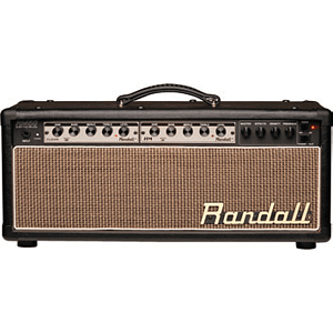 Randall RM50HBP MTS Series 50-Watt Modular Guitar Tube Amplifier Head - Black Vinyl & Palomino Grill - Unloaded