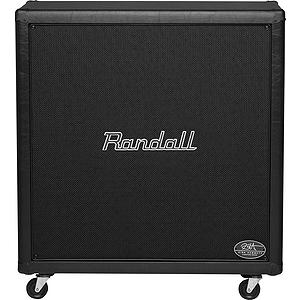 Randall RS412KH100 Kirk Hammett Signature Series 4 x 12 Guitar Speaker Cabinet - 400W RMS