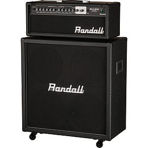 Randall RX120RHS 120-Watt Half Stack Package with RX120RH Head and RX412 Cabinet