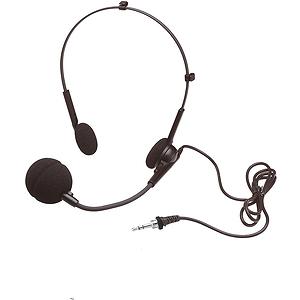 "Hamilton Electronics Microphone - Head Worn, 1/8"" plug"
