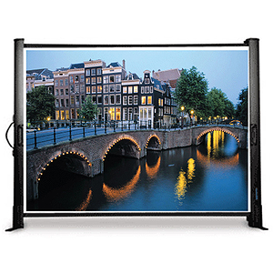 "Buhl Compact Portable Screen, 50"" x 50"""