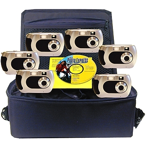 Camera Explorer Kit, Six Cameras with Flash, CD ROM, Curriculum Guide, Nylon Carry Case