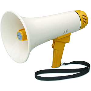 "Hamilton Electronics MM3 Mighty Mike Megaphone with 1/4"" Mile Range"