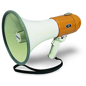 Hamilton Electronics MM6S Mighty Mike Megaphone with Siren