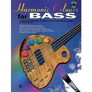 Harmonic Colours For Bass BK/CD