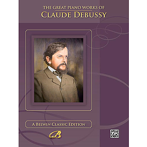 Great Piano Works Of Claude Debussy