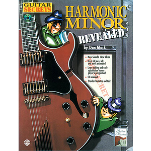 Guitar Secrets Harmonic Minor Revealed BK/CD