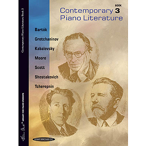 Contemporary Piano Literature Book 3