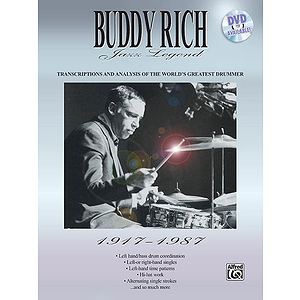 Buddy Rich - Rich Jazz Legend 1917-1987 Transcriptions And Analysis Of The World's Greatest Drummer