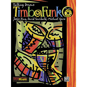 Timbafunk Talking Drums Play Along 2 Cds Included