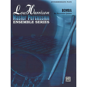 Bomba Lou Harrison Master Percussion Ensemble Series