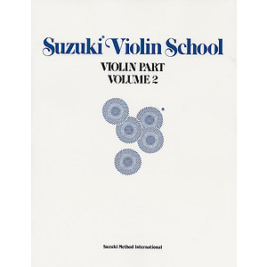 Suzuki Violin School Violin Part Volume 2