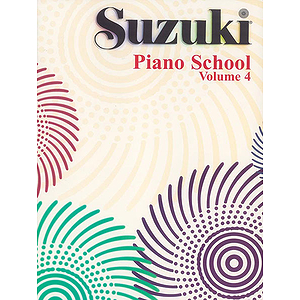 Suzuki Piano School Piano Book Volume 4