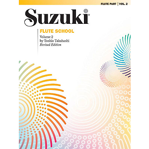 Suzuki Flute School Flute Part Volume 2 Revised