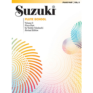 Suzuki Flute School Piano Accompaniments Volume 3 (Revised)