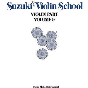 Suzuki Violin School Violin Part Volume 9