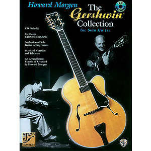 Gershwin Collection For Solo Guitar BK/CD