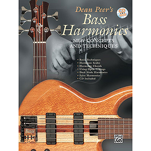 Bass Harmonics New Concepts And Techniques BK/CD