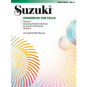 Ensembles For Cello Volume 3