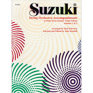 String Orchestra Accompaniments To Solos From Volumes 1 & 2 Score
