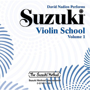 Suzuki Violin School CD Volume 1 (Performed By David Nadien(includes Separate Acompaniment Tracks)